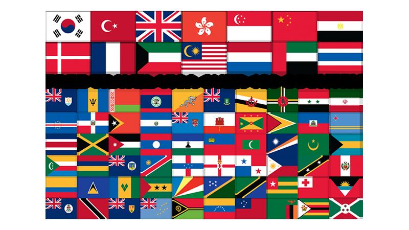 لیست کشورهای بدون ویزا