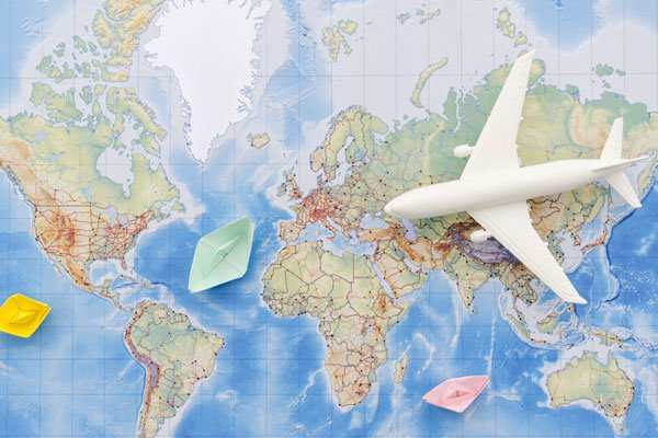 سفر به بیش از 140 کشور دنیا